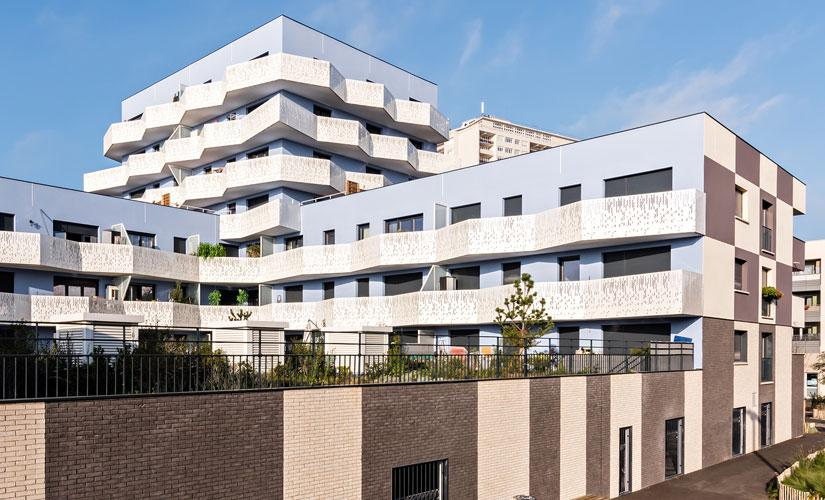Les terrasses et jardins - Alfortville réalisation Groupe Axho