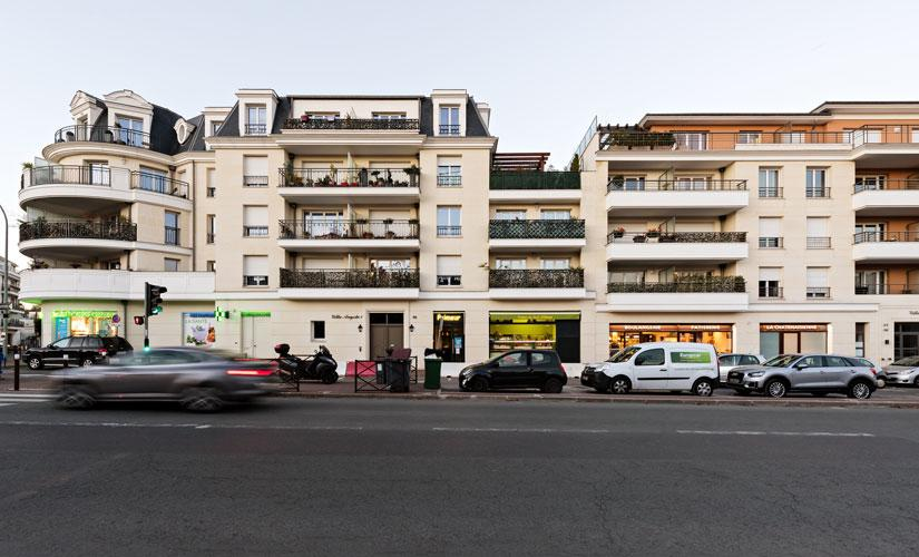 Villa Angela - Châtenay-Malabry réalisation Groupe Axho